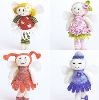 Patons Four Fairy Dolls