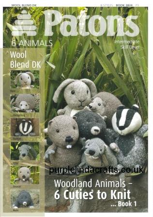 Patons Woodland Animals Knitting Patterns