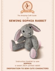 Amazing Craft's Sophia Rabbit Sewing Pattern