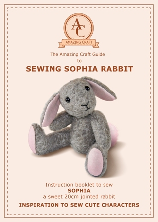 Amazing Craft - Sewing Sophia Rabbit Pattern - AMAZING CRAFT