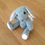 Sophia the mohair Rabbit from Amazing Craft