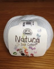 Yarn - DMC Cotton Natura N762 Soft Grey