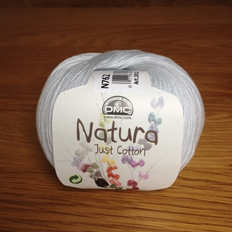 Yarn - DMC Cotton Natura N762 Soft Grey