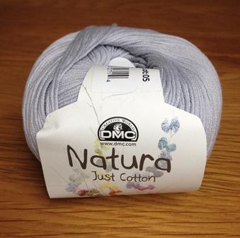 Yarn - DMC Cotton Natura Zinc Grey