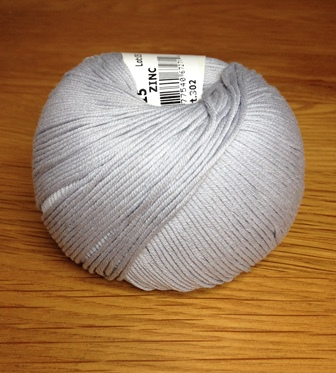 Yarn - DMC Cotton Natura Zinc Grey