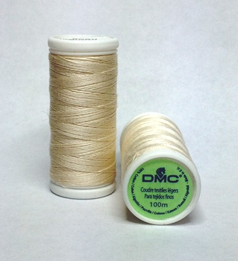 DMC Cotton Sewing Thread ECRU
