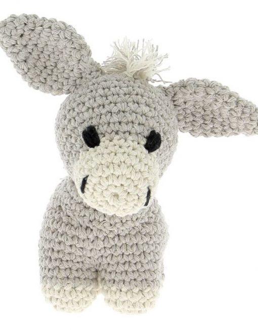 Hoooked Donkey Joe Crochet Grey