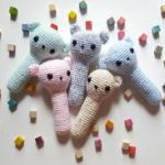 Free crochet pattern baby rattle