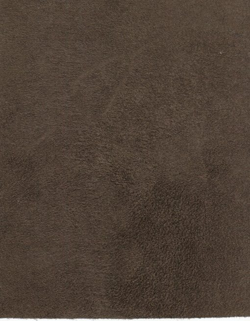 Faux suede - chocolate brown