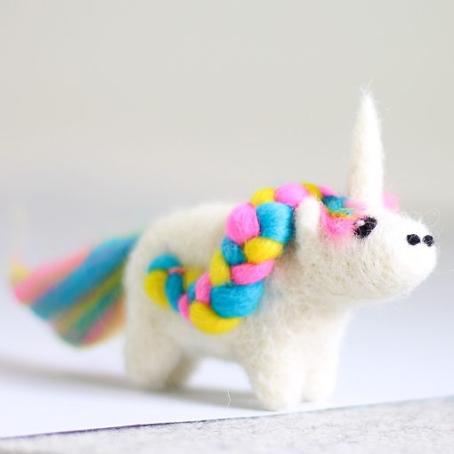 Hawthorn Handmade Unicorn Mini Needle Felting Kit