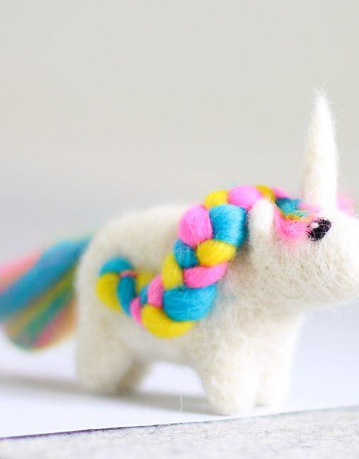 Hawthorn Handmade Unicorn Mini Needle Felting Kit