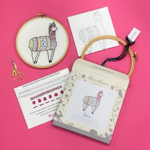 Hawthorn Handmade Alpaca Embroidery Hoop