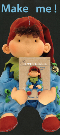 De Witte Engel Wardolf Doll - Semmie & Kit