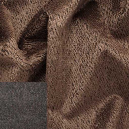 Helmbold Mohair 12mm Sparse - Brown Cocoa
