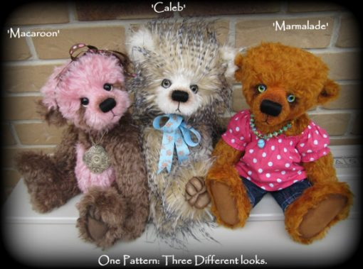 Emma's Bears Lyric Teddy Bear Pattern