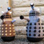 Dalek crochet pattern