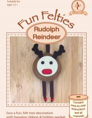 Amazing Craft Fun Felties Kit Cover Rudolph Reindeer