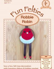 Amazing Craft Fun Felties Robbie Robin Cover