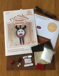 Fun Felties Rudolph Reindeer Kit contents