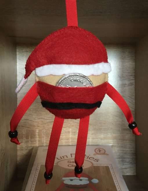 Fun Felties Santa Hidden pocket