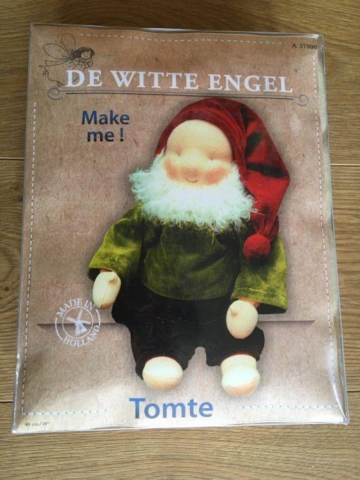 De Witte Engel Waldorf Doll Kit Tomte
