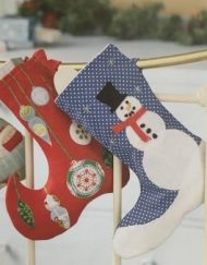 Love to Sew Christmas Stockings by Rachael Rowe