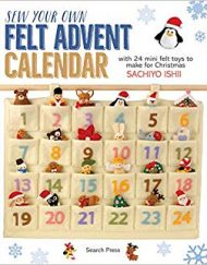 Sew your own felt advent calendar Sachiyo Ishii
