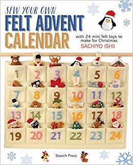 Sew your own felt advent calendar Sachiyo Ishii