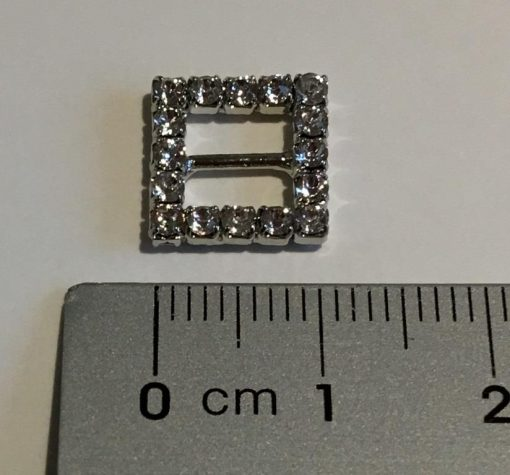 10mm Diamante Buckle & ruler