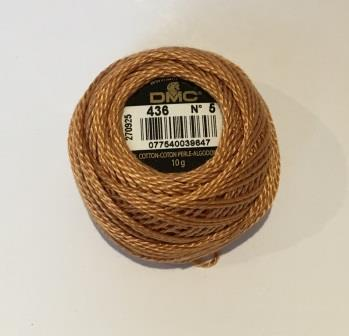 DMC Cotton Perle Thread 5 436