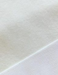 Mini Stoffe Fabric - Natural & woven backing