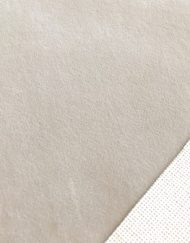 Mini Stoffe Fabric - Soft Grey & woven backing