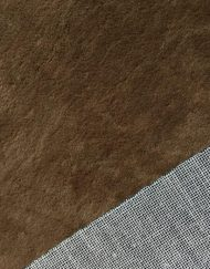 Mini Stoffe Fabric - Light Brown & woven backing