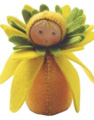 De Witte Engel Little Daffodil Doll