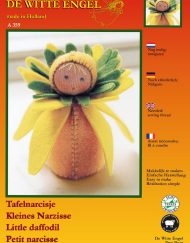 De Witte Engel Little Daffodil Doll Kit