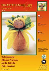 De Witte Engel Little Daffodil Doll Kit