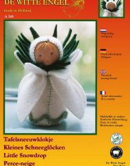 De Witte Engel Little Snowdrop Doll Kit