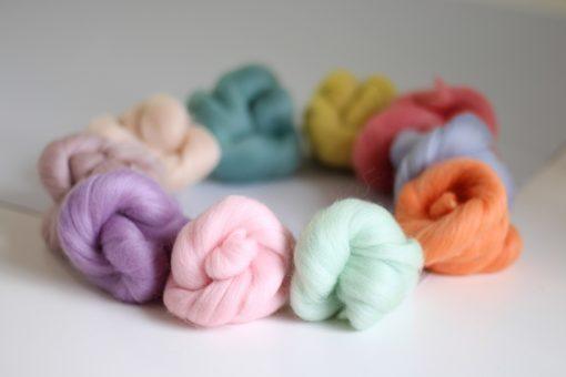 Hawthorn Handmade Merino Wool - Pastels 1
