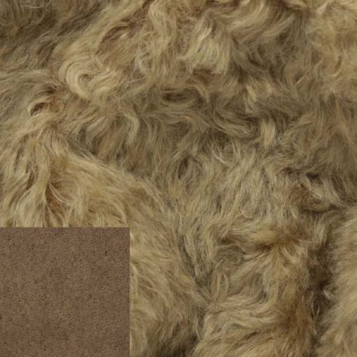 Helmbold 20mm Mohair Brown Mouse