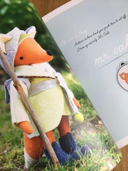 Little Traveller Fox by Simone Gooding