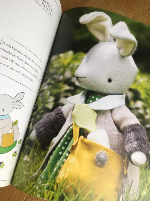 Little Traveller Rabbit by Simone Gooding