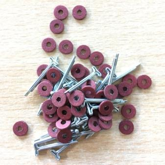 6mm cotter pin joints for miniature bears