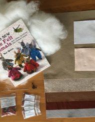 How to sew little felt animals Sue Quinn kit