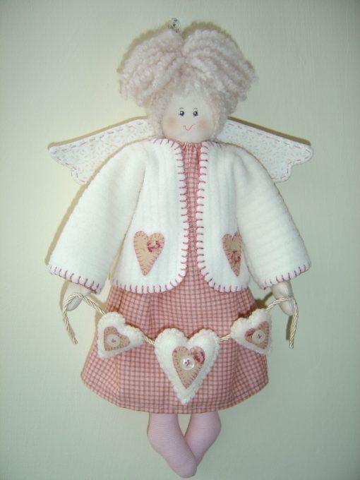 Brenda Walker Rosetta Heart Garland Angel