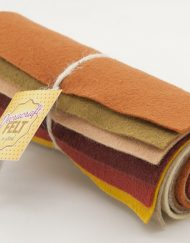Wool Felt Mini Roll - Autumn