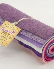 Wool Felt Mini Roll - Pretty Berries FR5