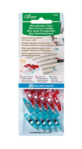 Clover Mini Wonder Clips Pack