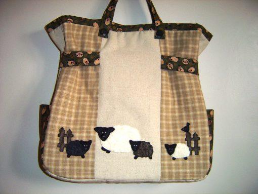 Woolly Jumper Knitting Bag Brenda Walker back