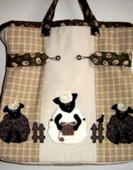 Woolly Jumper Knitting Bag Brenda Walker front