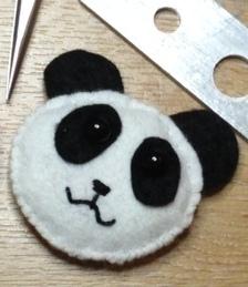 Panda Fridge Magnet